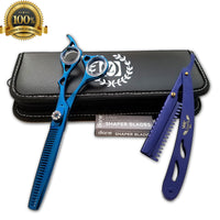 Professional Salon Hair Cutting Thinning Scissors Barber Shears Hairdressing Set - Liberty Beauty Supply