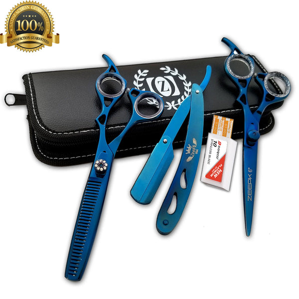 barber cut throat shavette shaving men straight razor folding afeitado rapada - Liberty Beauty Supply