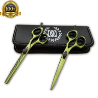 Salon Professional Barber Hair Cutting Thinning Scissors Shears Hairdressing Set - Liberty Beauty Supply