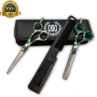 "5.5"" Thinning Shear Salon Shears Hair Scissors Barber Shears Razor Edge TIJERAS - Liberty Beauty Supply"