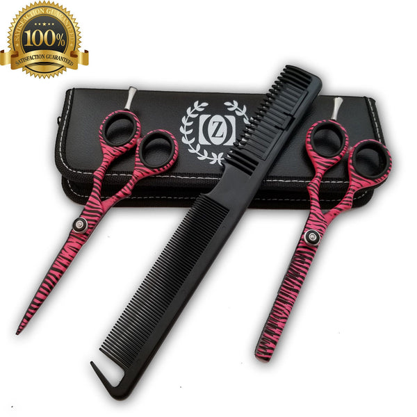 5.5'' Hairdressing Shears Professional Thinning/Cutting Human Hair Scissors - Liberty Beauty Supply