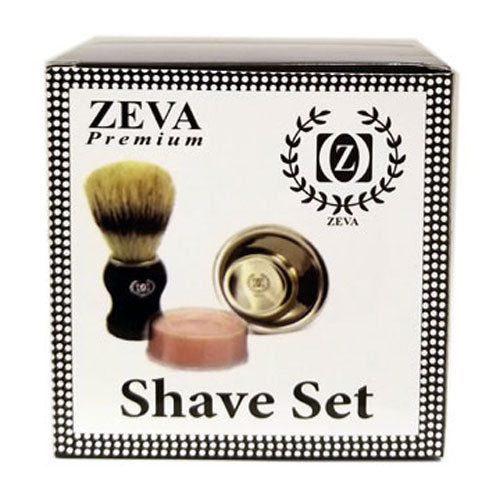 ZEVA Men's Luxury Wet Shave 3 Pcs Set - Liberty Beauty Supply