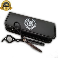 "Professional Barber Shears Thinning Scissors Hairdressing 6"" Tijeras USA Hair - Liberty Beauty Supply"