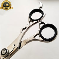 "7"" Professional Salon Hair Cutting Scissors Thinner Barber Shears Razor Set - Liberty Beauty Supply"