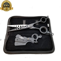 Professional Salon TIJERAS 8' Thinning Scissors Barber Shears Hairdressing Set - Liberty Beauty Supply