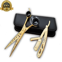 Professional Hairdressing Set Salon Hair Cutting Thinning Scissors Barber Shears - Liberty Beauty Supply