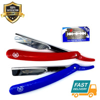 Barber Straight Cut Throat Salon Shaving Razor Shave Rasoi Rasoirs + Blades - Liberty Beauty Supply