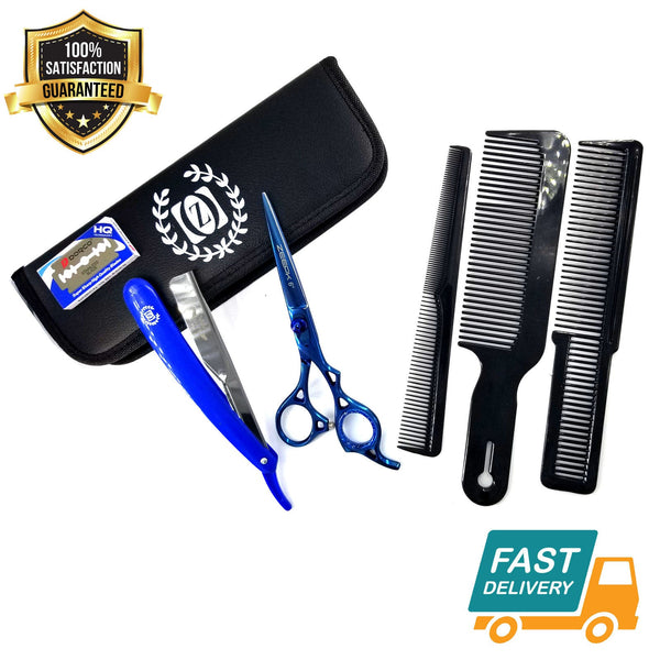 Salon Hair Shaper Razor Blade with Handle for Custom Shaping Shears Kit TIJERAS - Liberty Beauty Supply