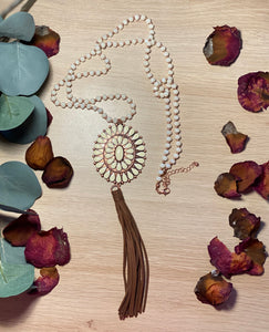 Concho Pendant Necklace