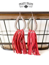 Load image into Gallery viewer, Rio Grande Earrings - Red