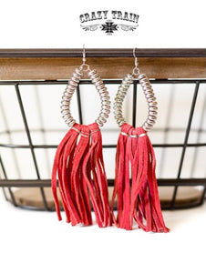 Rio Grande Earrings - Red