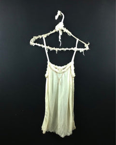 Distressed Cream Colored Cami / Tank