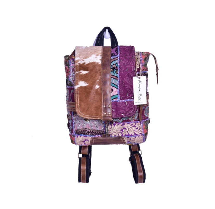 Traditional Backpack With Hair On