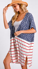 Load image into Gallery viewer, Stars And Stripes Cardigan