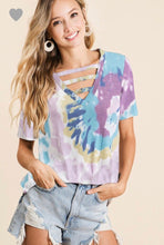 Load image into Gallery viewer, Peace, Love, & Tie Dye Top