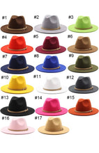 Load image into Gallery viewer, Faux Suede Brim Hat With Removable Band