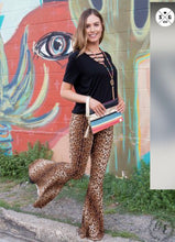 Load image into Gallery viewer, Classic Leopard Flare Pants