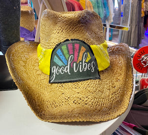 Good Vibes Cowgirl Hat
