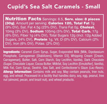 Load image into Gallery viewer, Cupid's Sea Salt Caramels