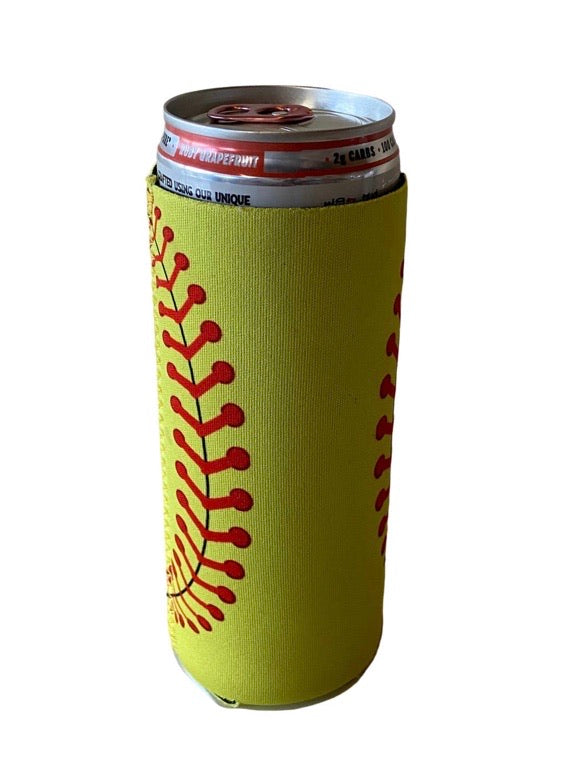 Softball Slim Koozie