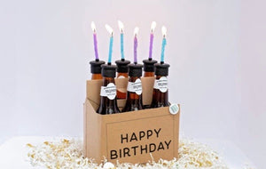 Bottle Top Candle - 6 Pack