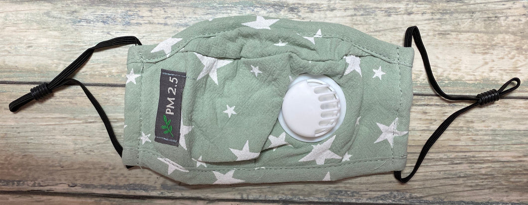 Kids Star Mask - Sage
