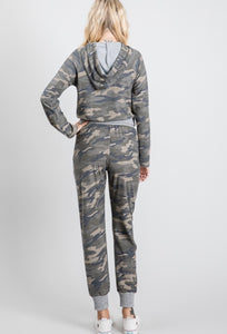 Camo Lounge Pants With Pockets