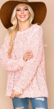 Load image into Gallery viewer, Pink Popcorn Sweater