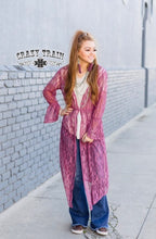 Load image into Gallery viewer, The Mauve Dania Duster