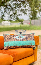 Load image into Gallery viewer, Lounger Leopard Pillow