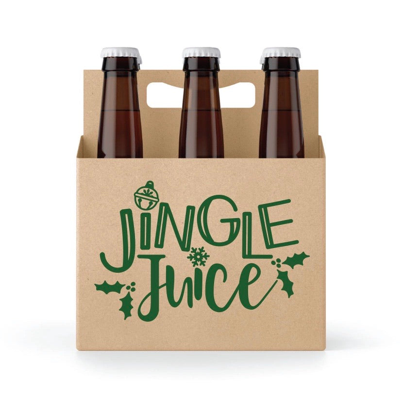 Jingle Juice 6 Pack Holder