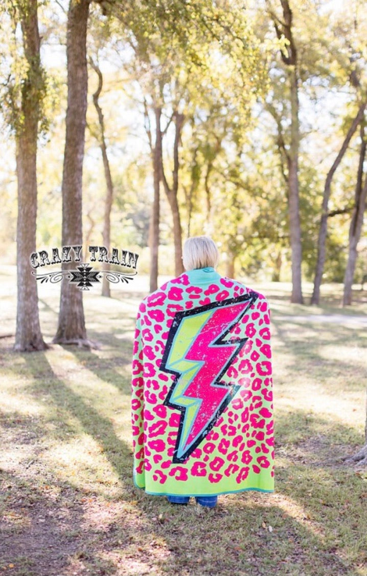 Stormy Brights Adult Blanket
