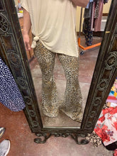 Load image into Gallery viewer, Leopard Bell Bottoms