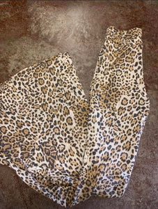 Leopard Bell Bottoms