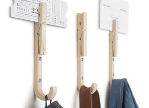 J-Peg Coat Hooks X3 Per Package