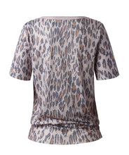 Load image into Gallery viewer, Beige Leopard Print Top