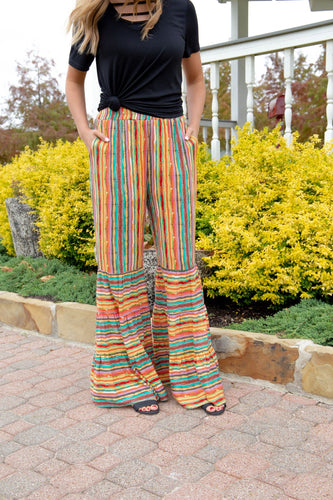 Meet Me in The Courtyard Palazzo Pants