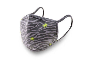 Zebra Stars Adult Mask