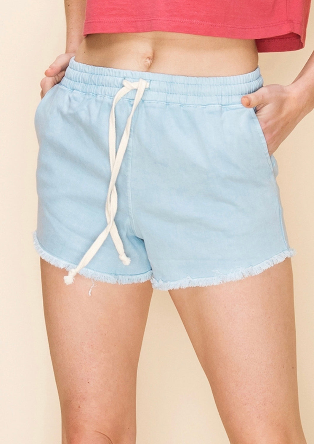 Frayed Lounge Shorts