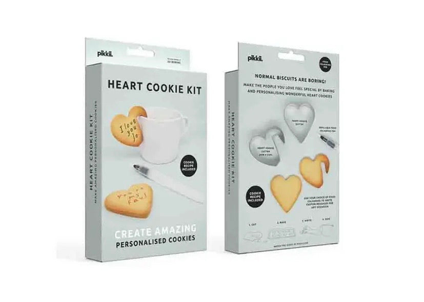 Cookie Cutters Kit With Pen For Handmade Messages