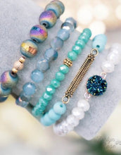 Load image into Gallery viewer, So Put Together Bracelet Set, Moody Blues