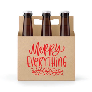 Merry Everything 6 Pack Holder