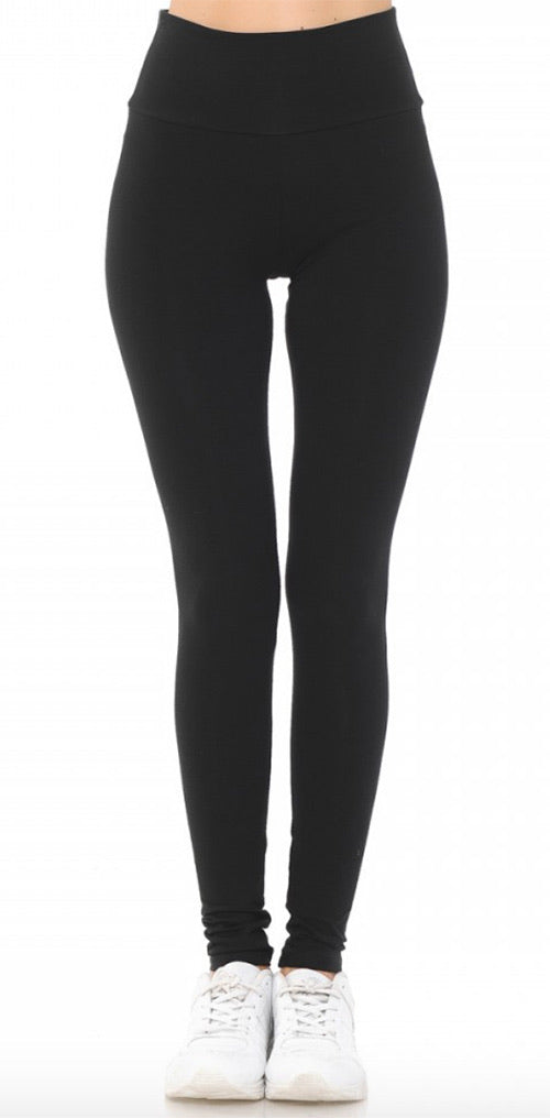 Black Color High Waisted Leggings