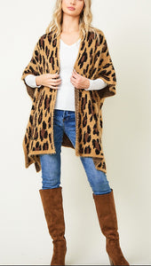 Cheetah Me Winter Sweater