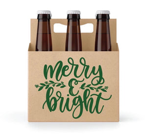 Merry & Bright 6 Pack Carrier