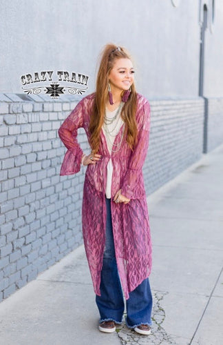 The Mauve Dania Duster