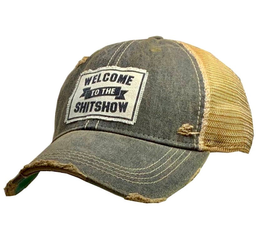 Welcome To The Shit Show Trucker Cap