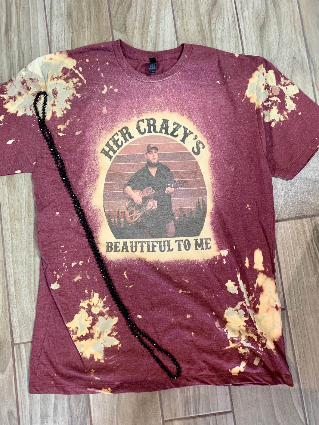 Her Crazy Is Beautiful To Me Graphic Tee