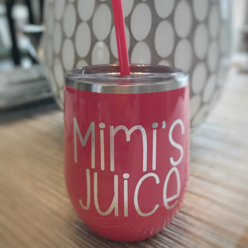 Mimi's Juice 12 oz Wine Tumbler