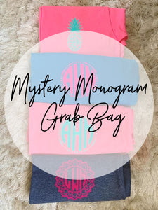 Mystery Grab Bag Monogram Tee